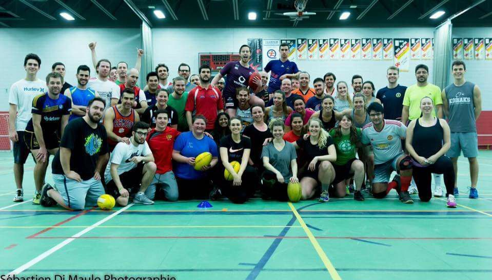 Fitness, Fun and Footy in Montreal! (Australian Football)