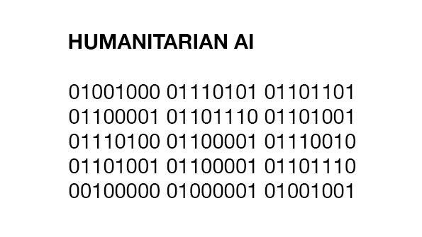 Humanitarian AI Zürich