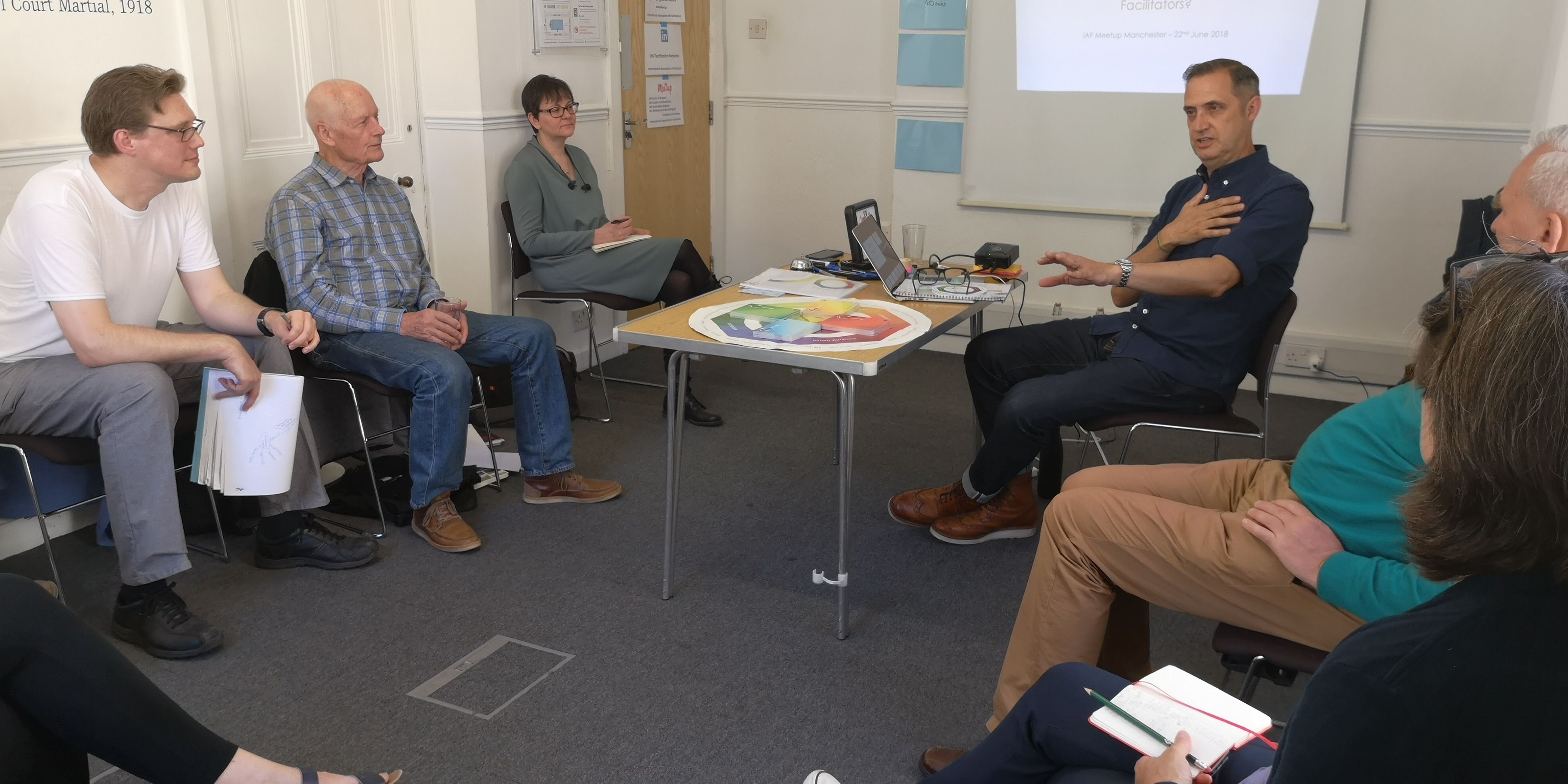 IAF North of England facilitators and friends