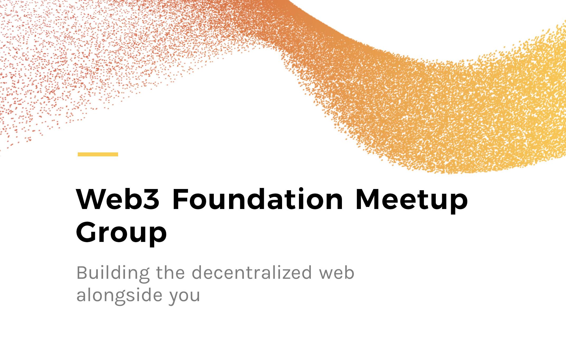 Web3 Foundation Meetup