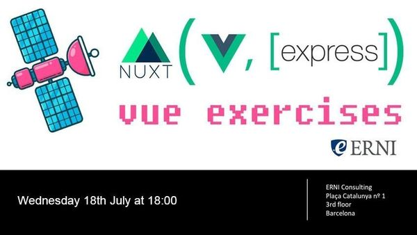 Vue js Introduction Workshop with Nuxt js and express js
