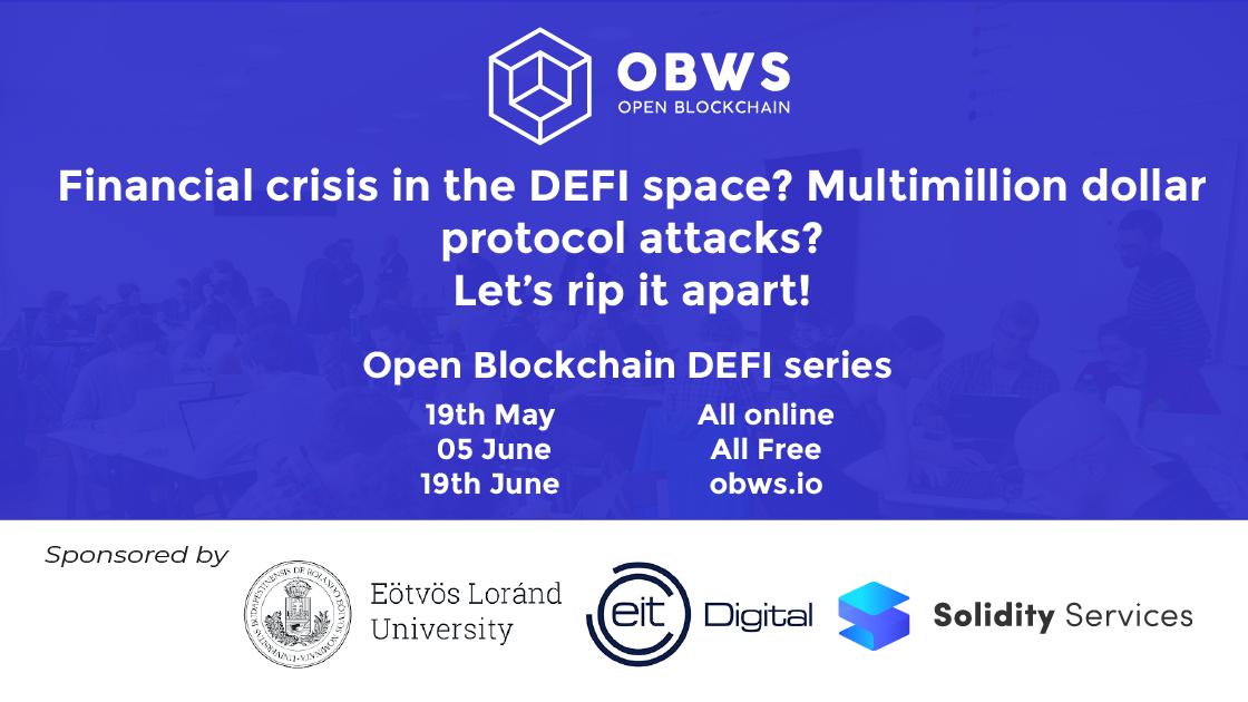 Open Blockchain - Workshop Series