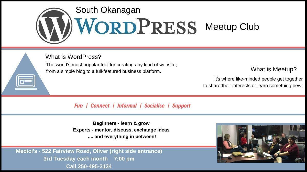 South Okanagan WordPress Meetup