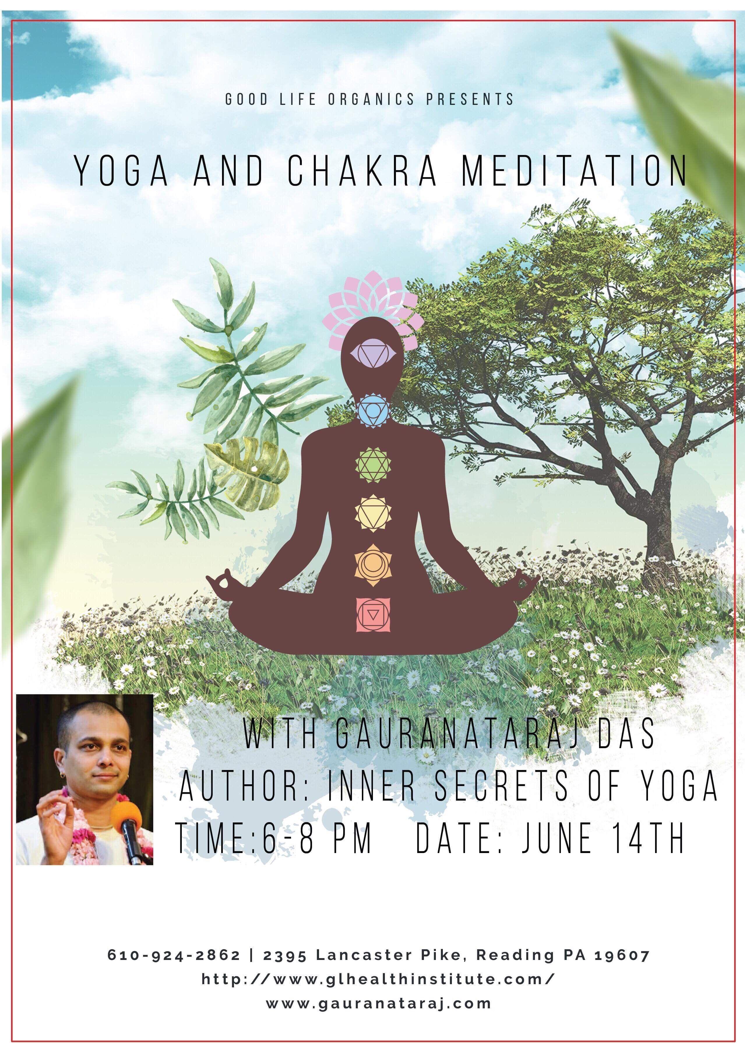 Yoga and Chakra Meditation | Meetup