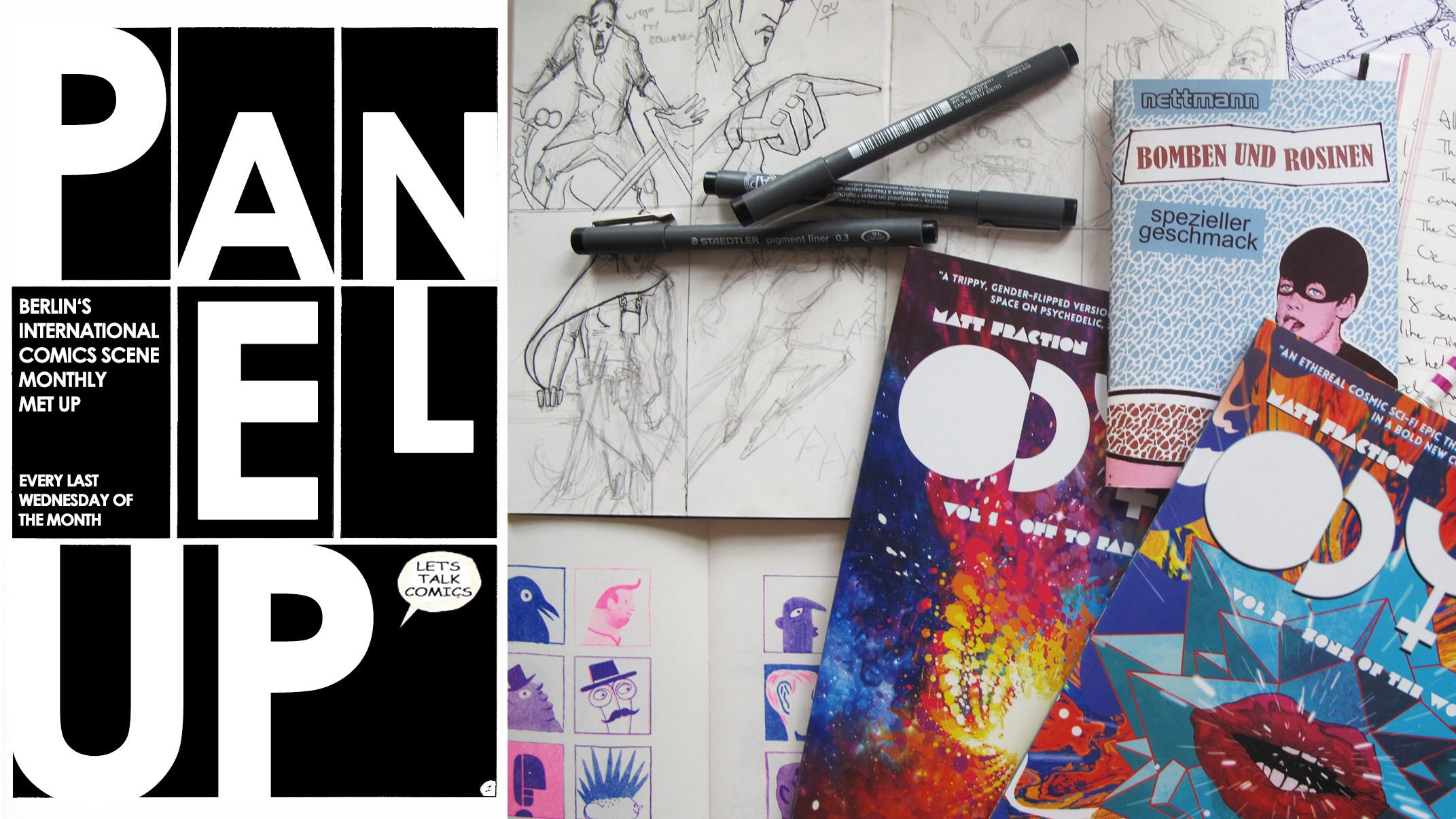 Panel Up - Berlin's International Comics Meet Up