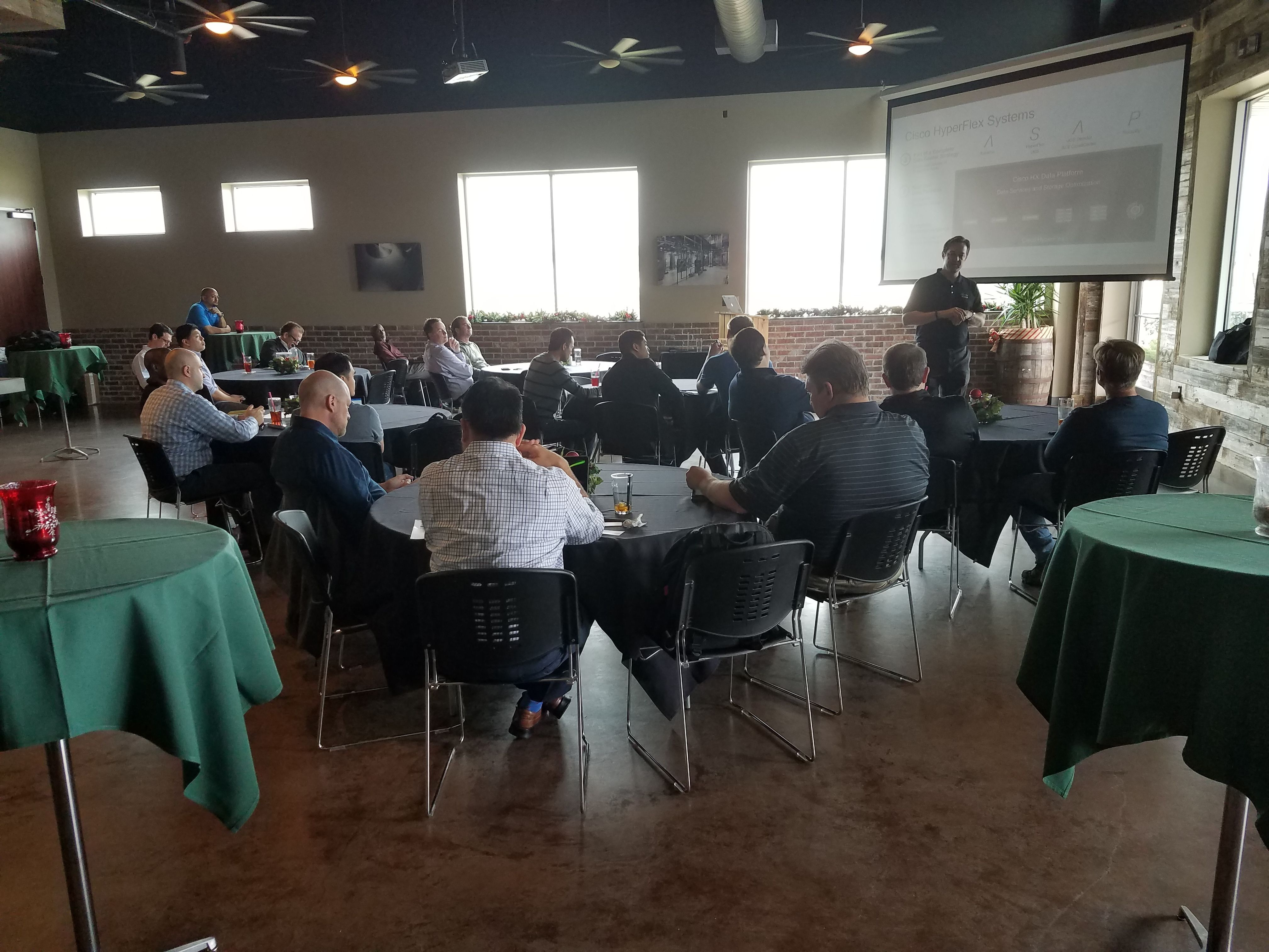 Houston Cisco UCS and Hyperflex Meetup