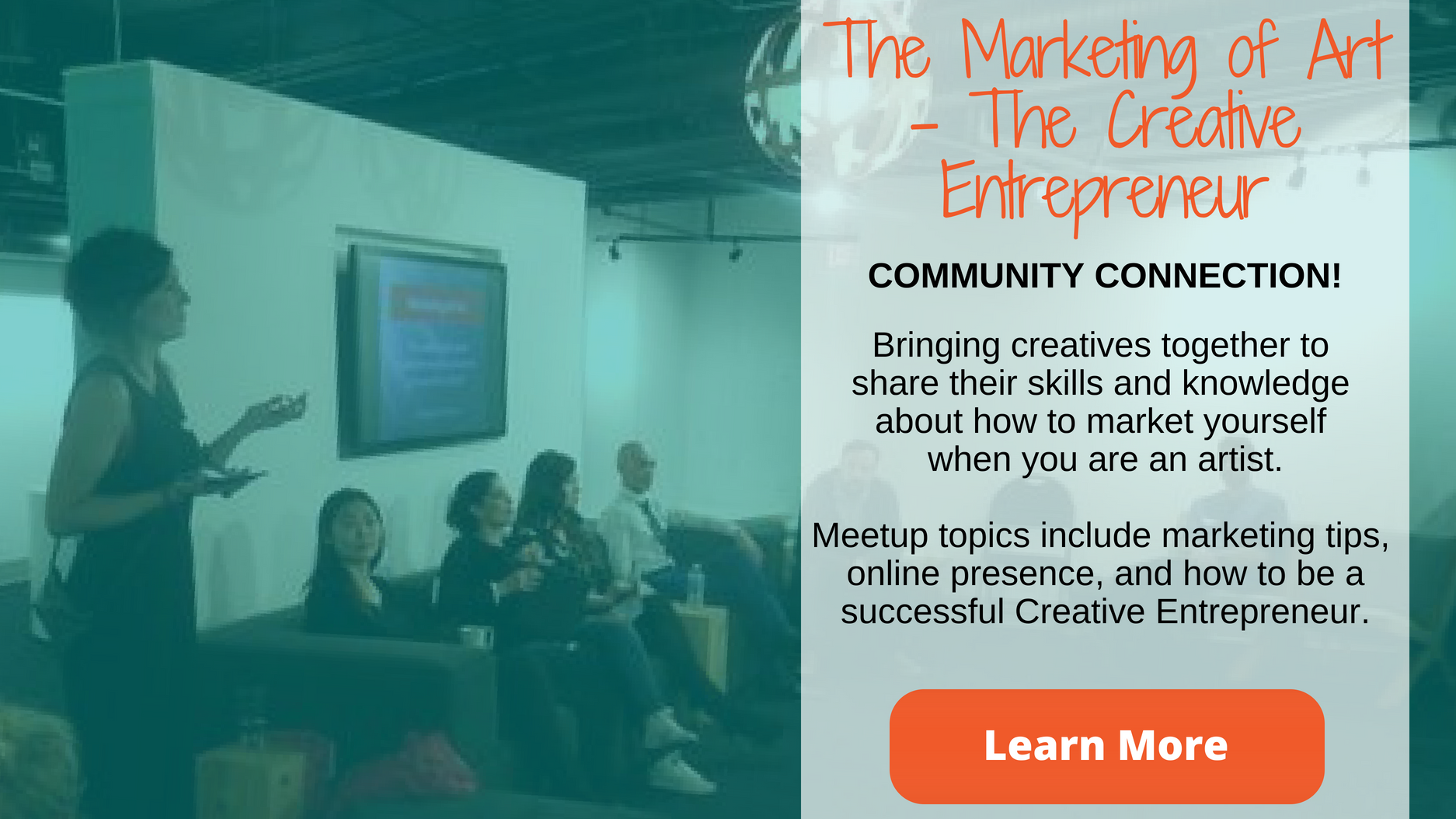 Marketing of Art - The Creative Entrepreneur