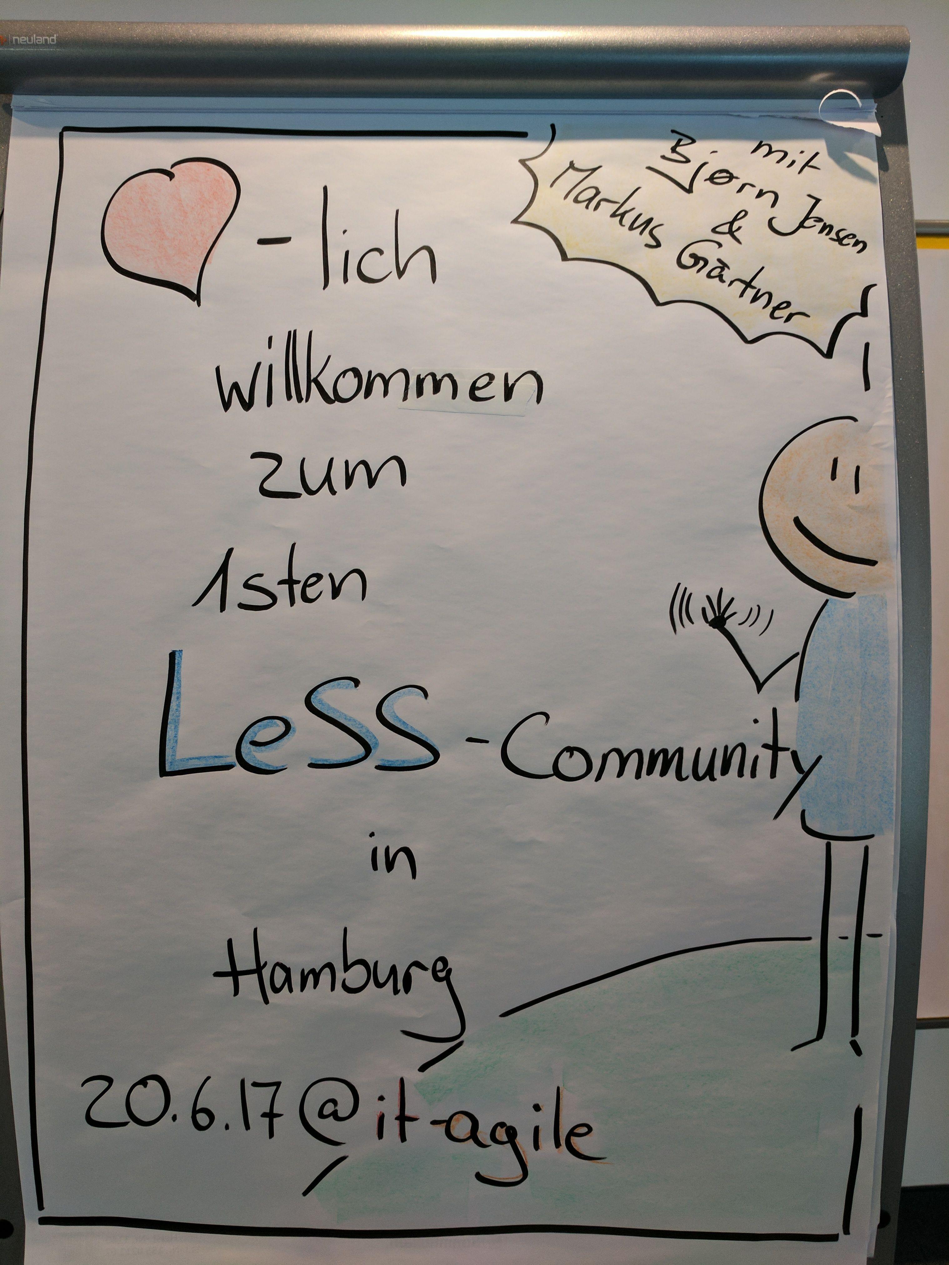 LeSS (Large-Scale Scrum) Hamburg