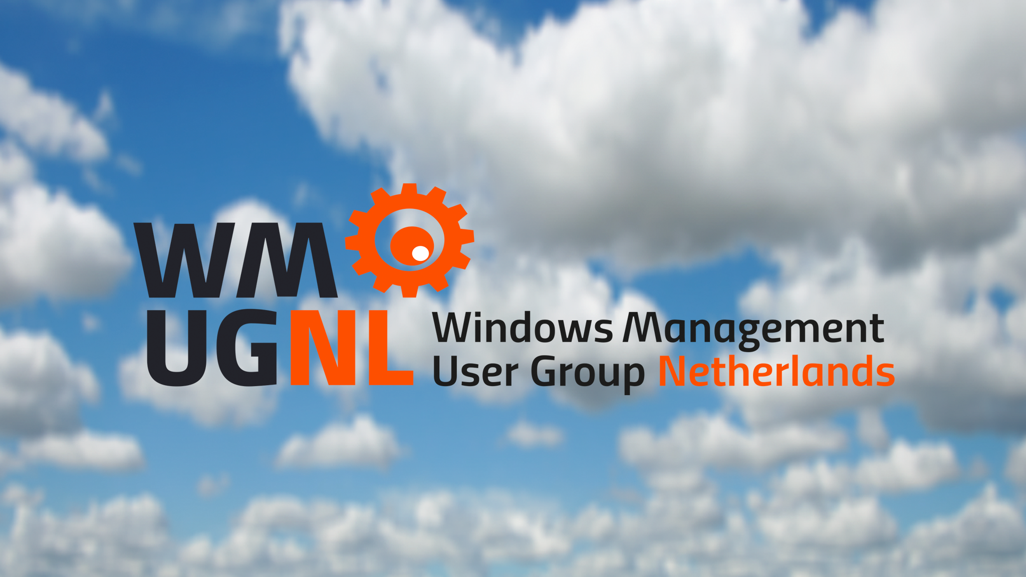 Windows Management User Group Netherlands