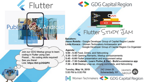 May monthly Flutter meetup - Join us! | Meetup