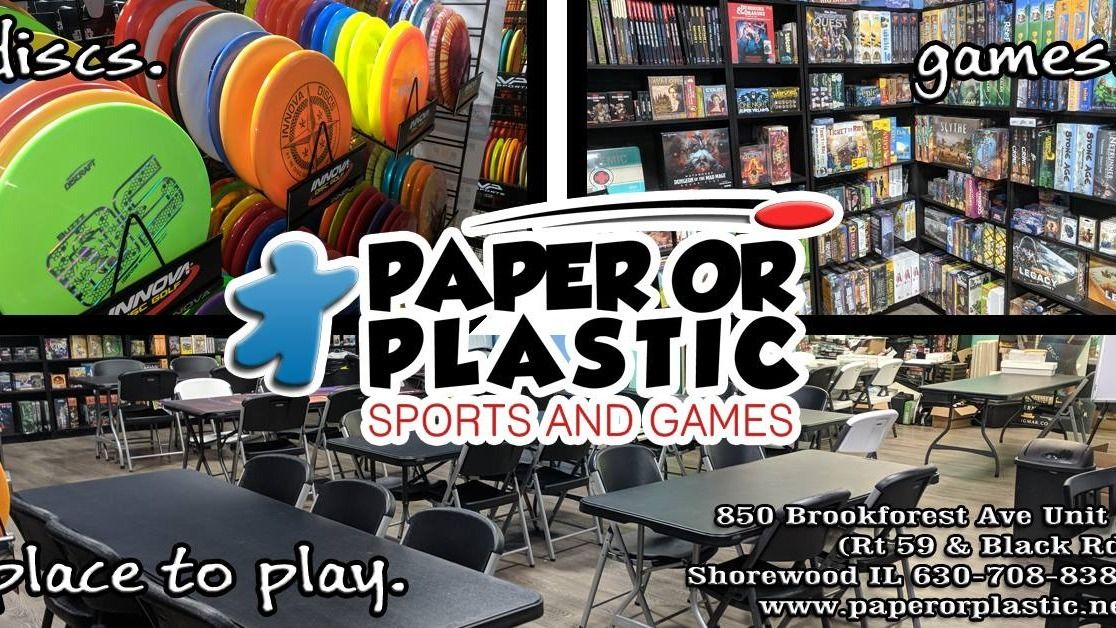 Paper or Plastic Sports and Games