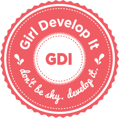 meetup logo for Girl Develop It Orlando