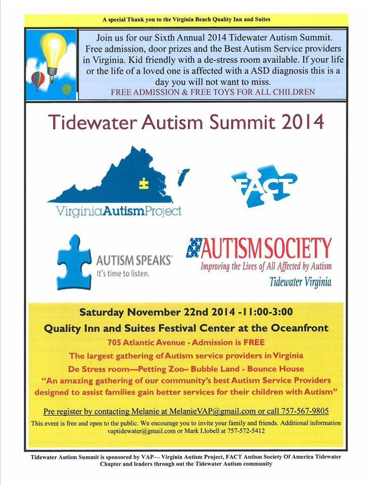 For Parents Of Autistic Kids 22nd >> Photos Autism Society Of Tidewater Virginia Virginia Beach Va