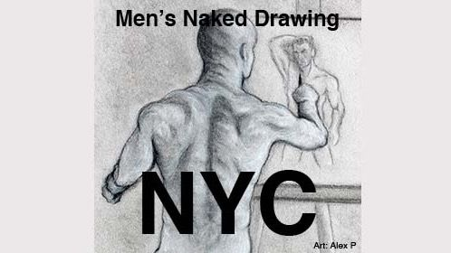 Men's Naked Drawing Group NY