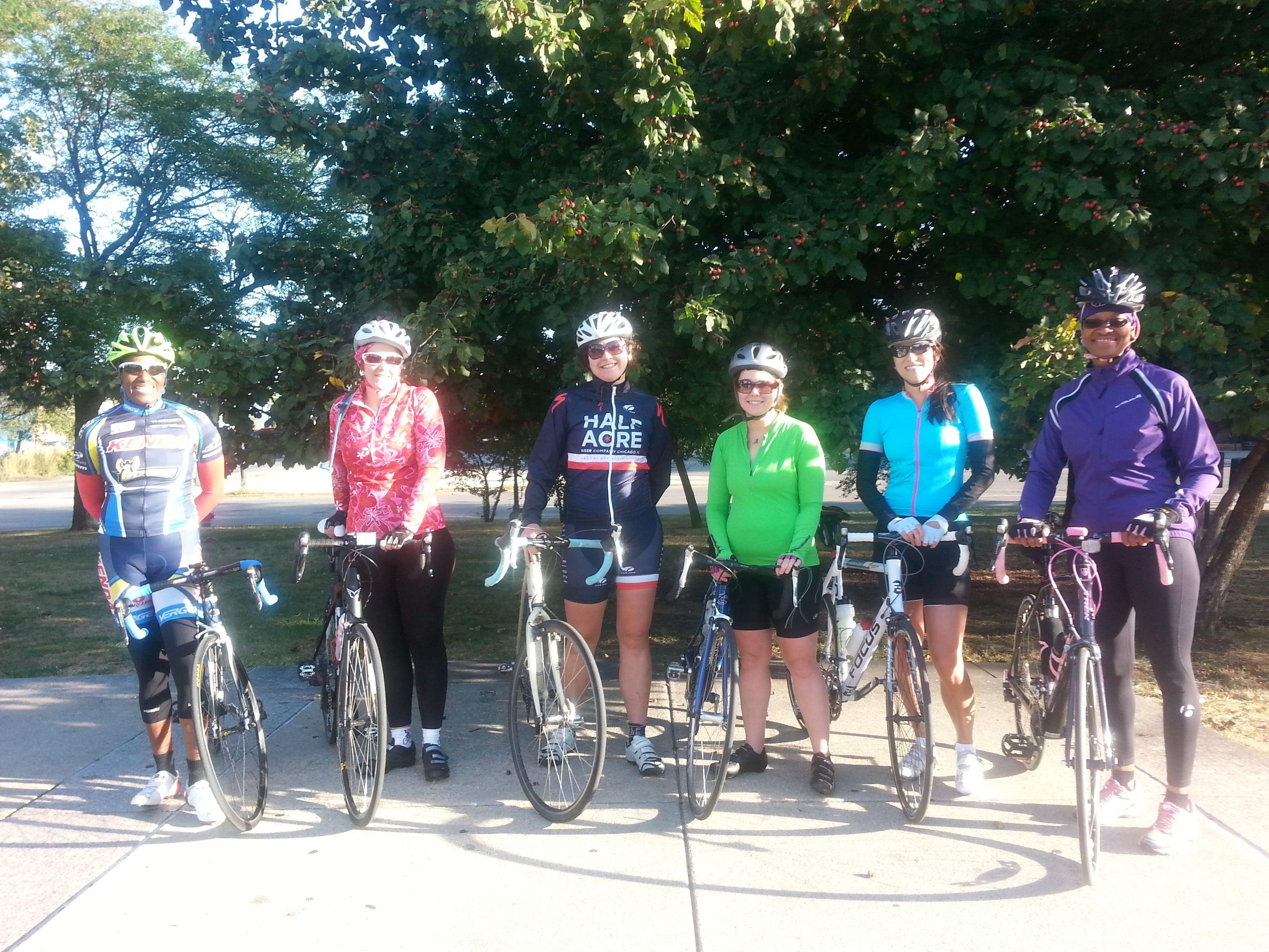 Illinois Women Cyclists
