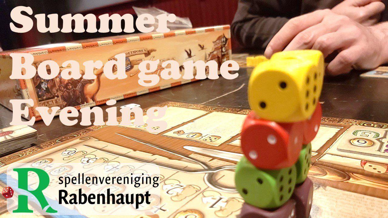 Rabenhaupt summer Board game night