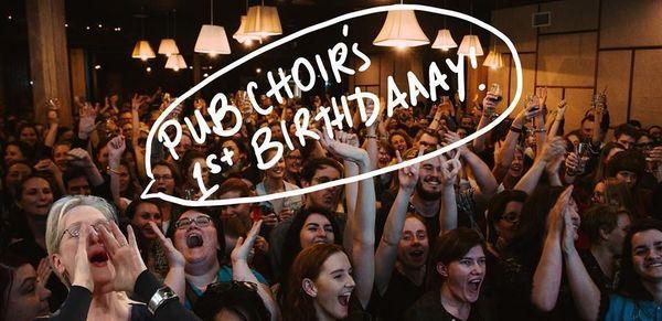 Pub Choir's 1st Birthday @ The Triffid