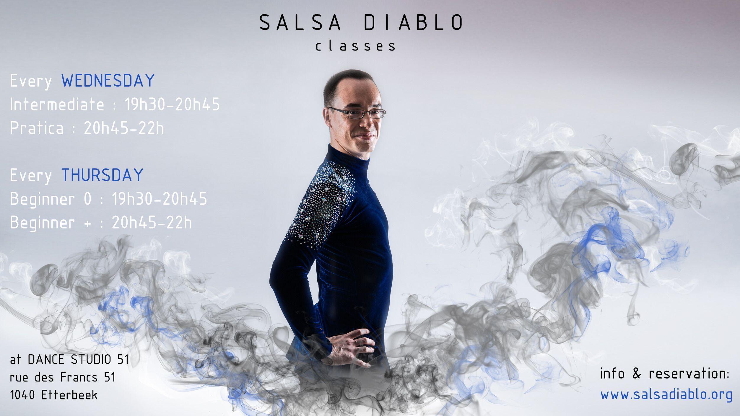 Let's Dance Salsa again ! - Intermediate level