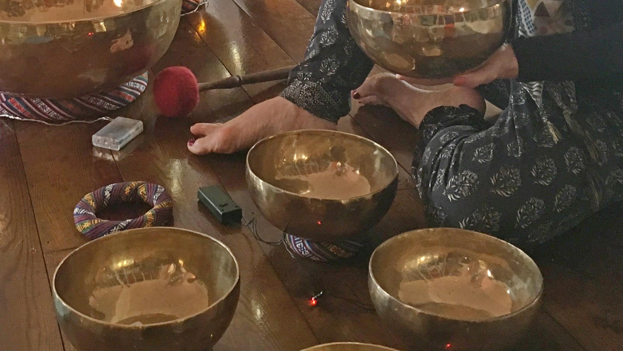 Tea and Gongs Yoga and Reiki