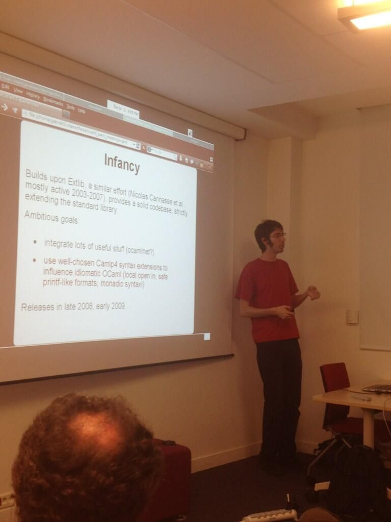 OCaml Users in PariS (OUPS)