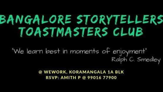 Bangalore Storytellers Toastmasters Club