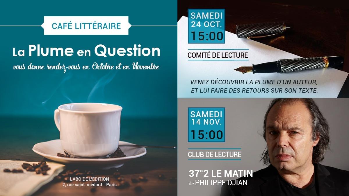 Café littéraire La Plume en question