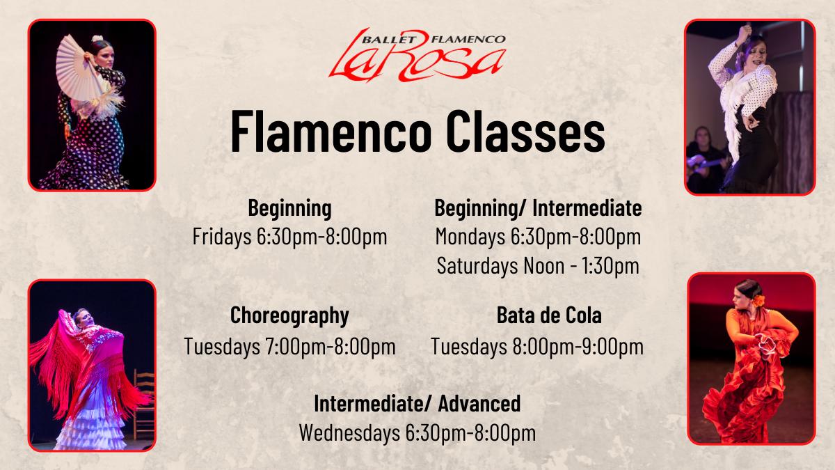 Flamenco Classes - Beginning/Intermediate