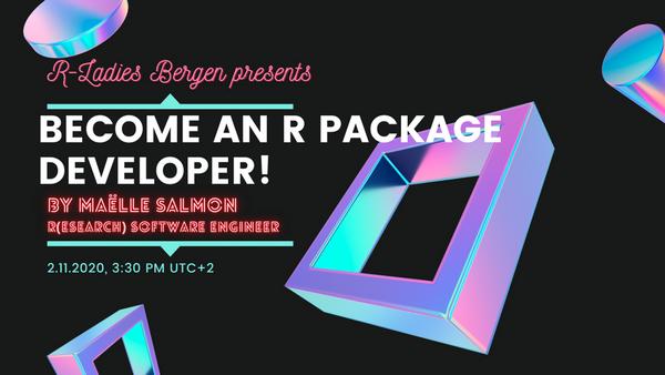 Become An R Package Developer Meetup