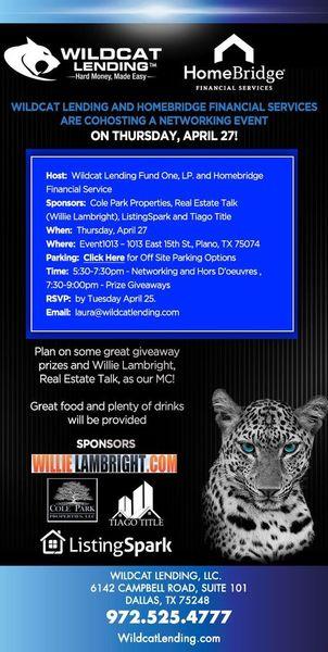 DALLAS: Wildcat Lending and Homebridge Financial Services ...