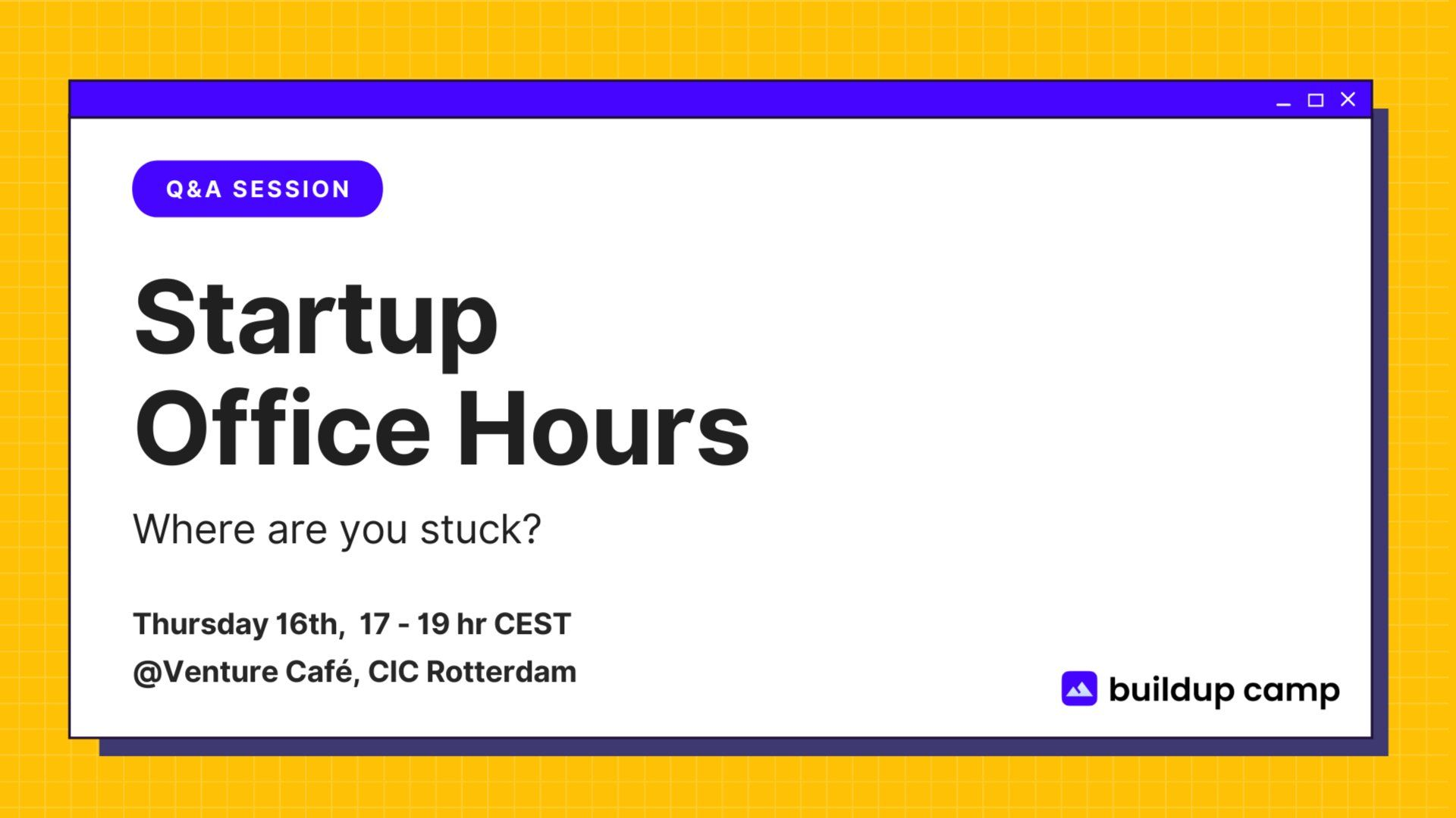 Startup Office Hours