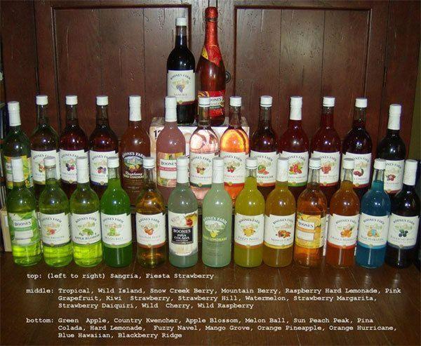 boones farm wine in spain