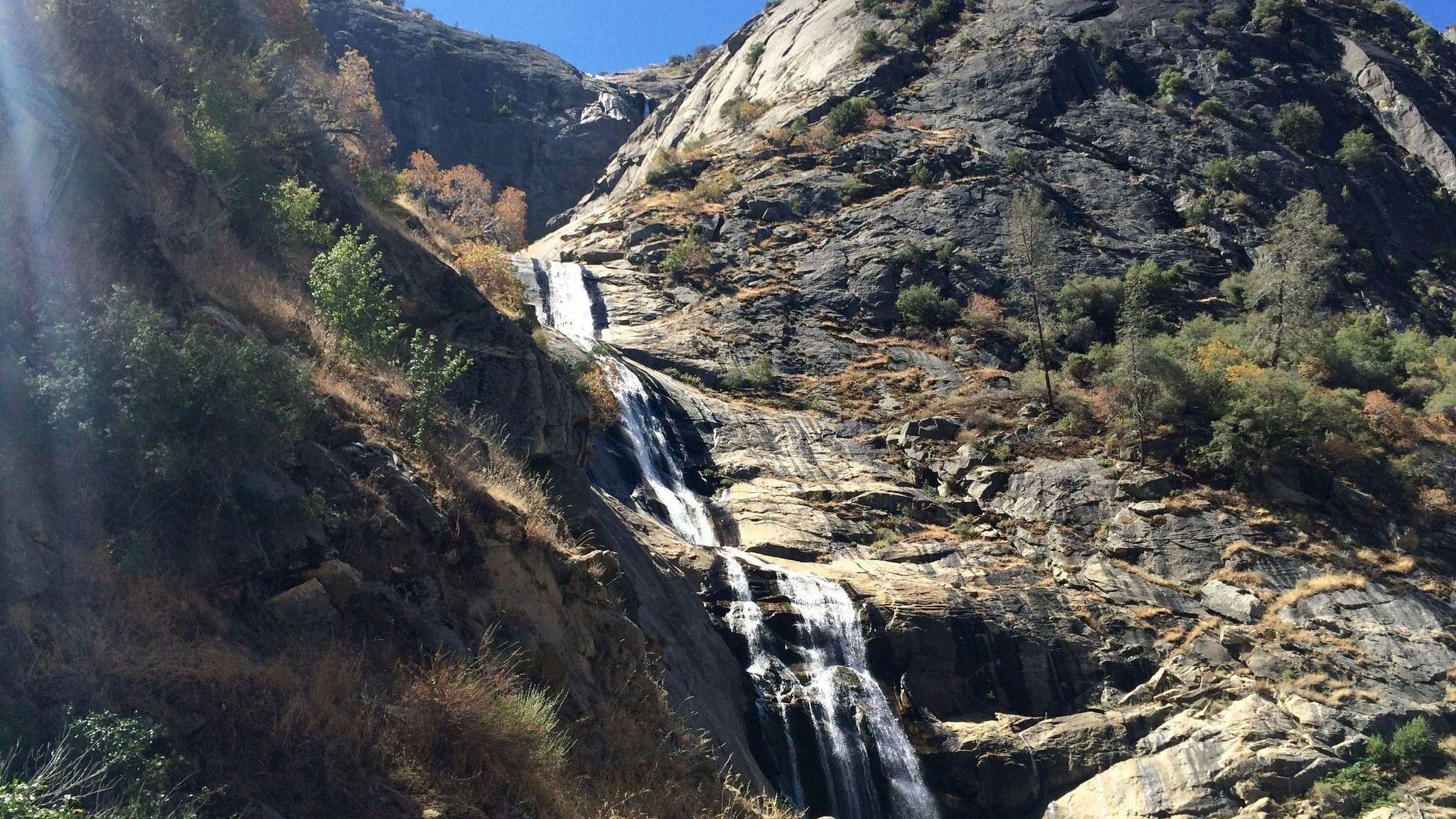 Hiking Stevenson Falls