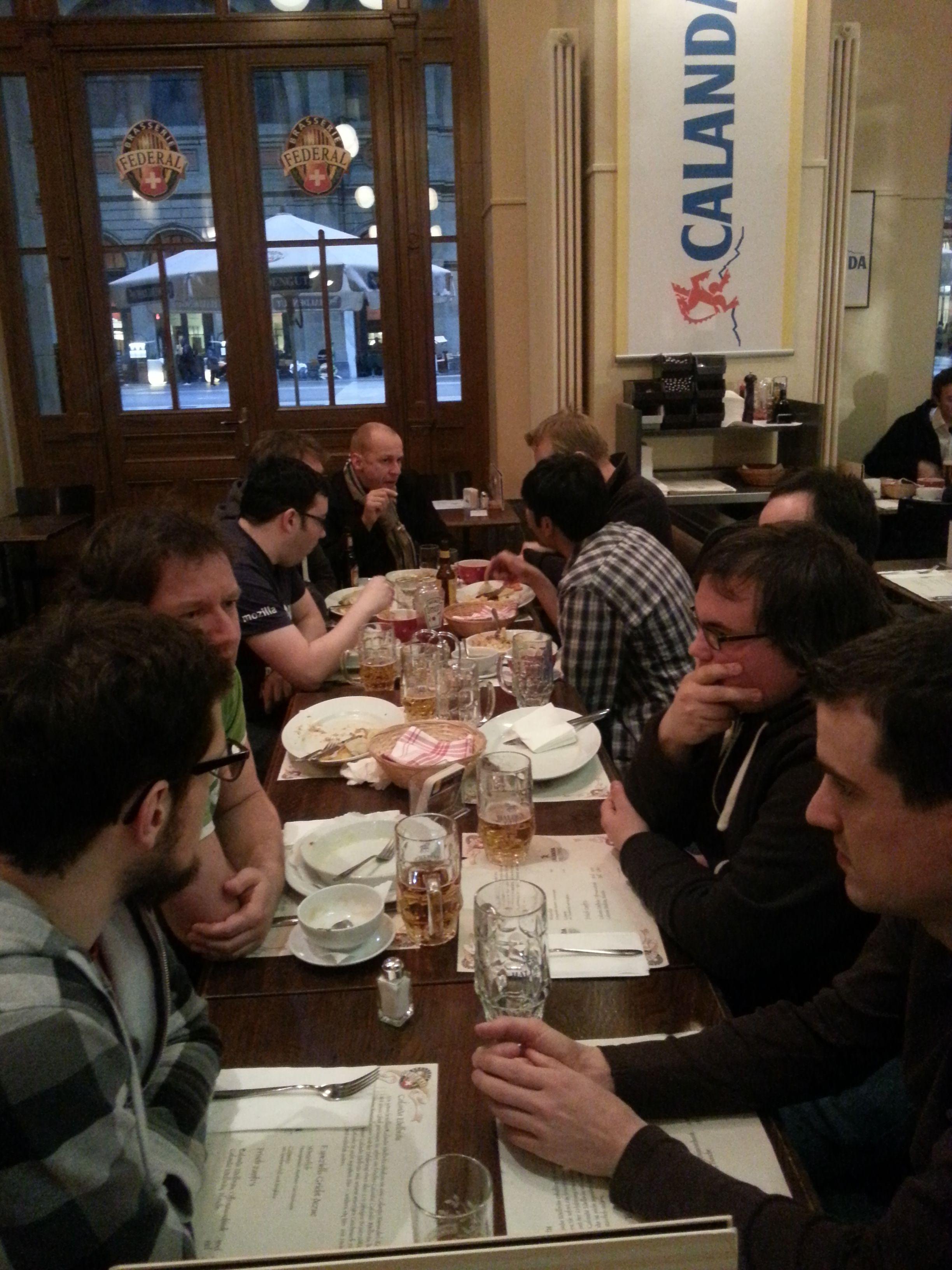 Mozilla Meetup Switzerland