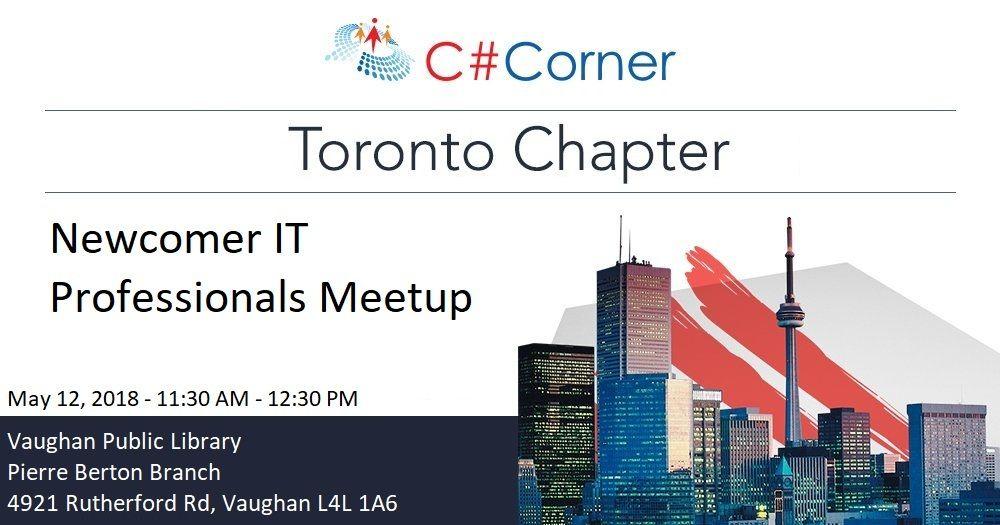 Photos - C# Corner Toronto Chapter Meetup (Toronto, ON) | Meetup