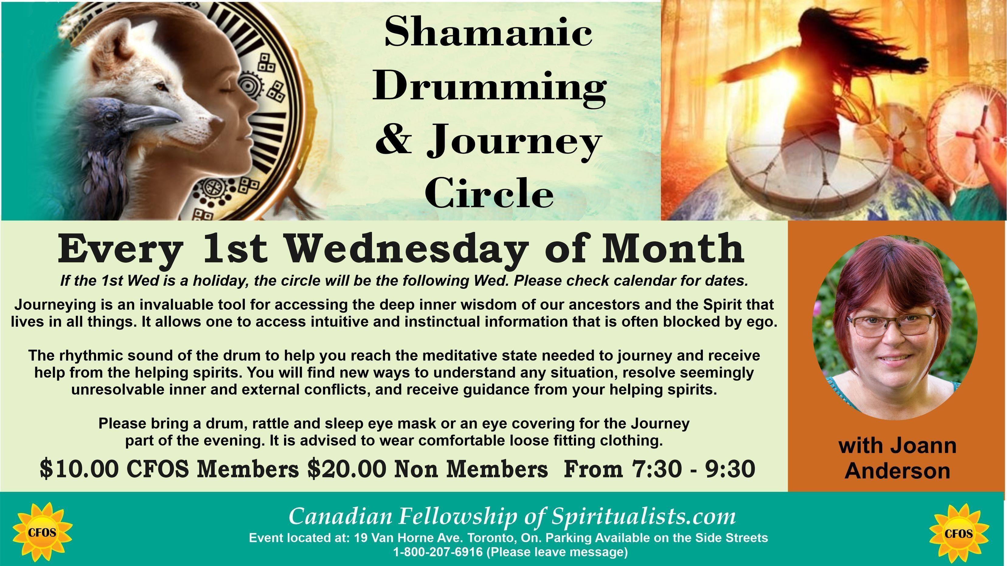 Shamanic Drumming and Journeying Circle