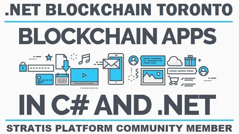 .NET Blockchain Toronto