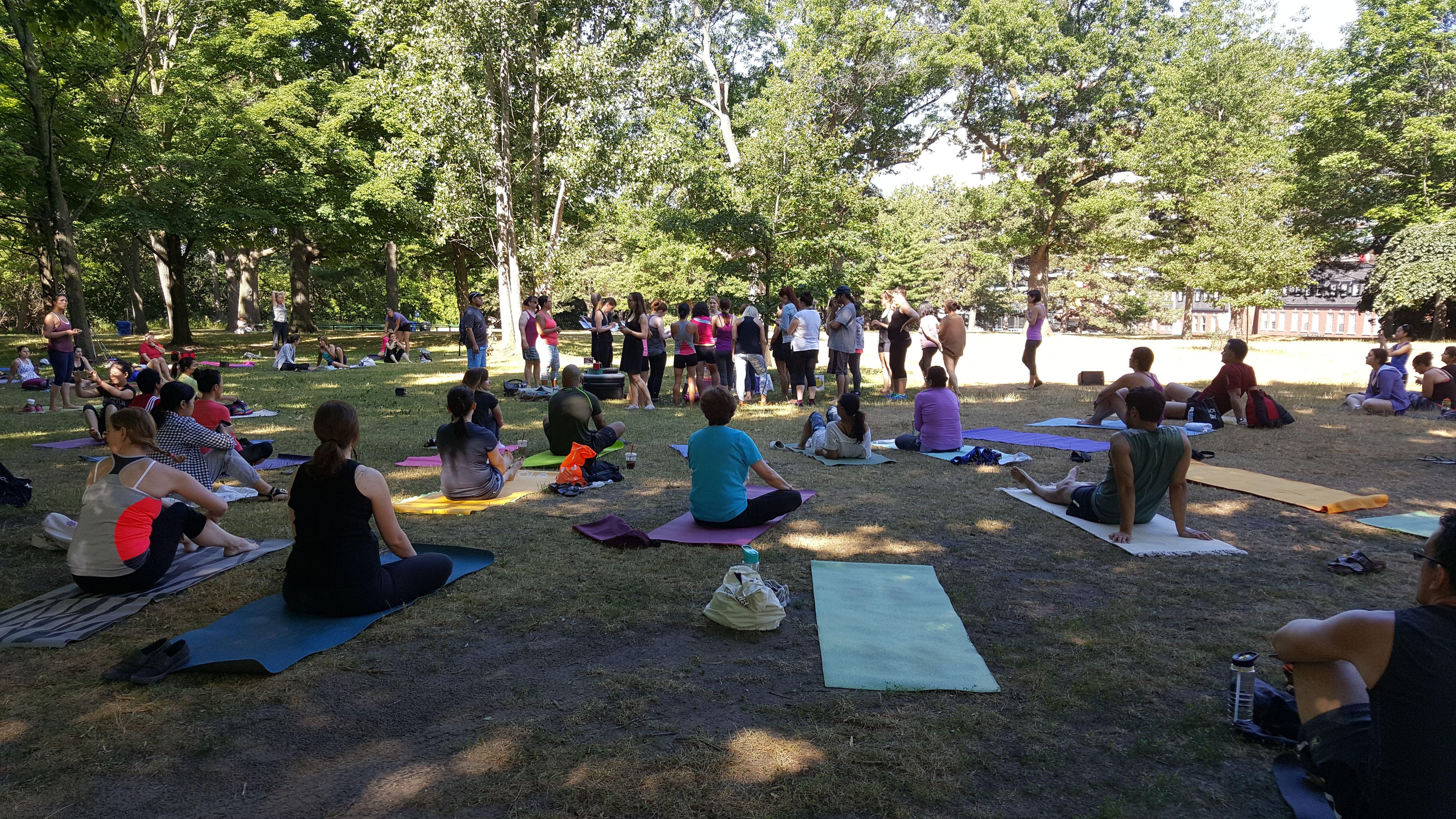 Yoga in Toronto!