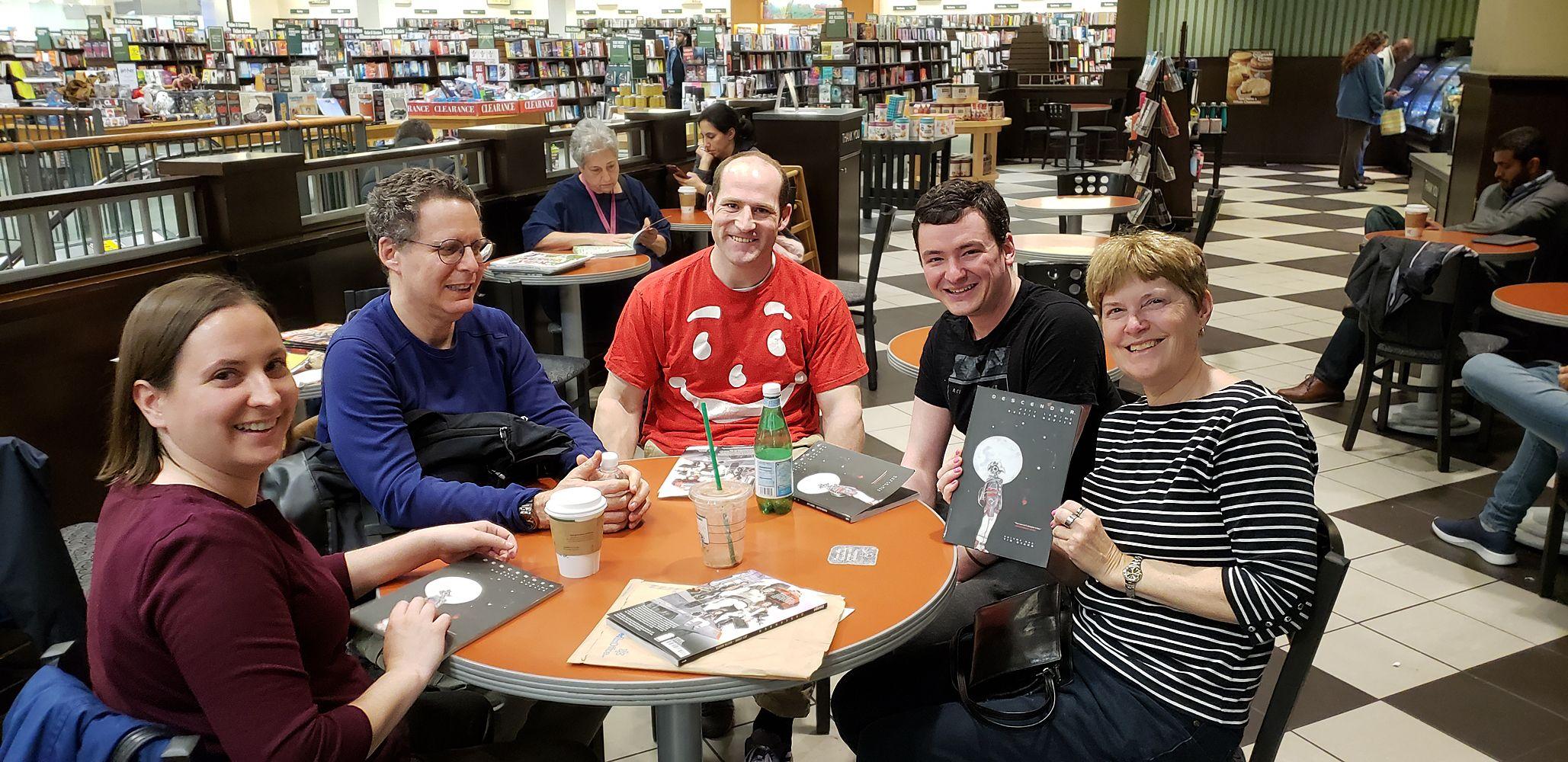 McLean Graphic Novel Book Club