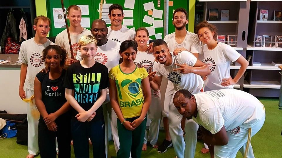 *** Capoeira lessons*** New Year's Resolution Training