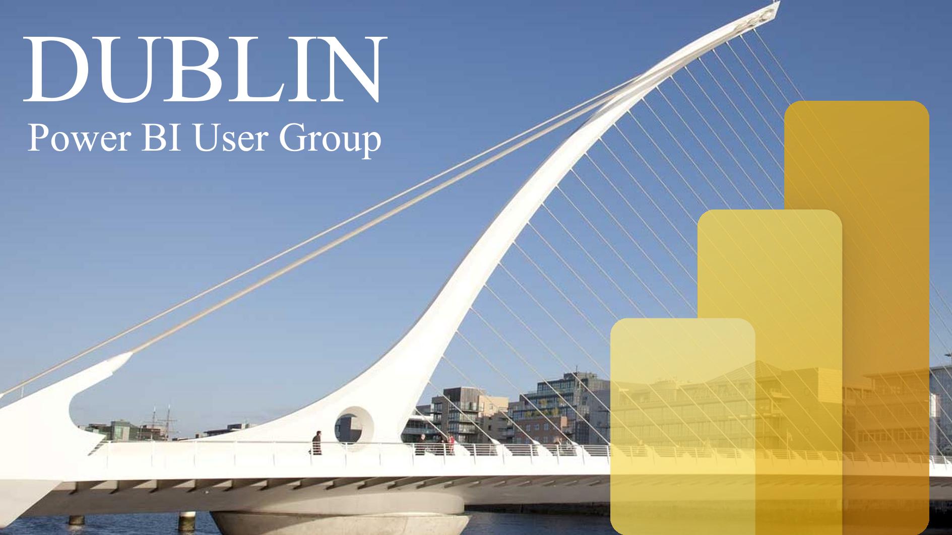Dublin Power BI User Group