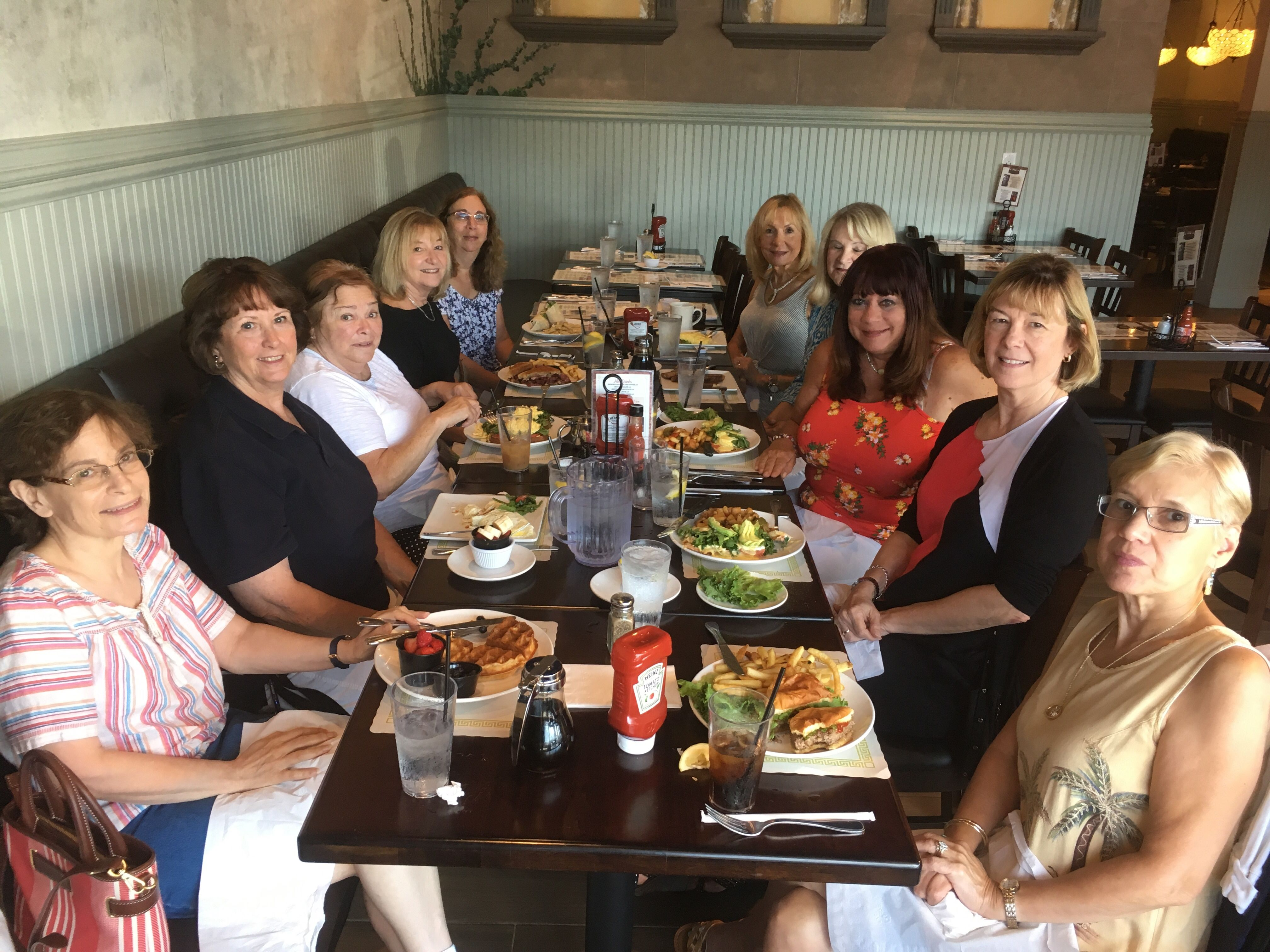 Weekday get-togethers Retired Women 55 and over Northern NJ