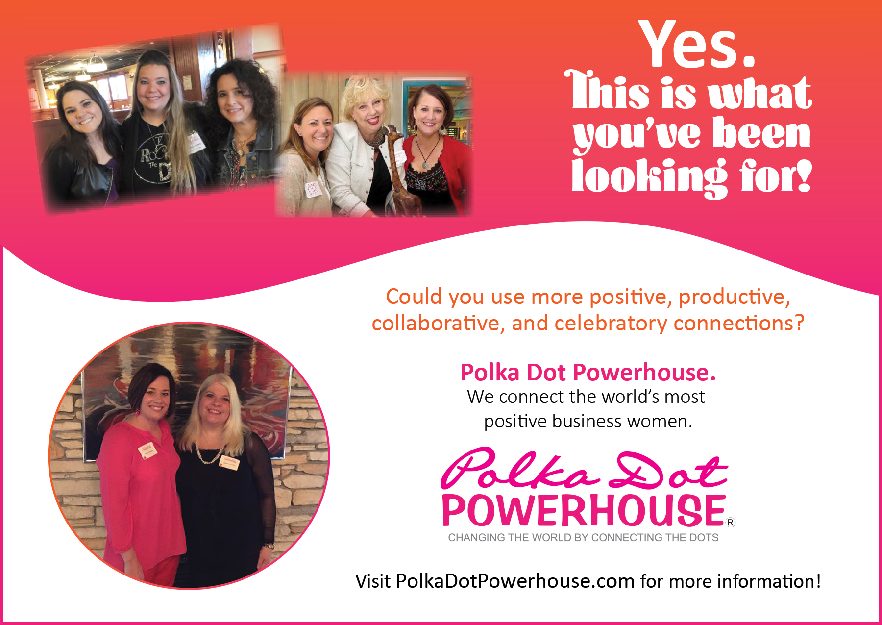 lancaster's polka dot powerhouse launch meeting! closed for