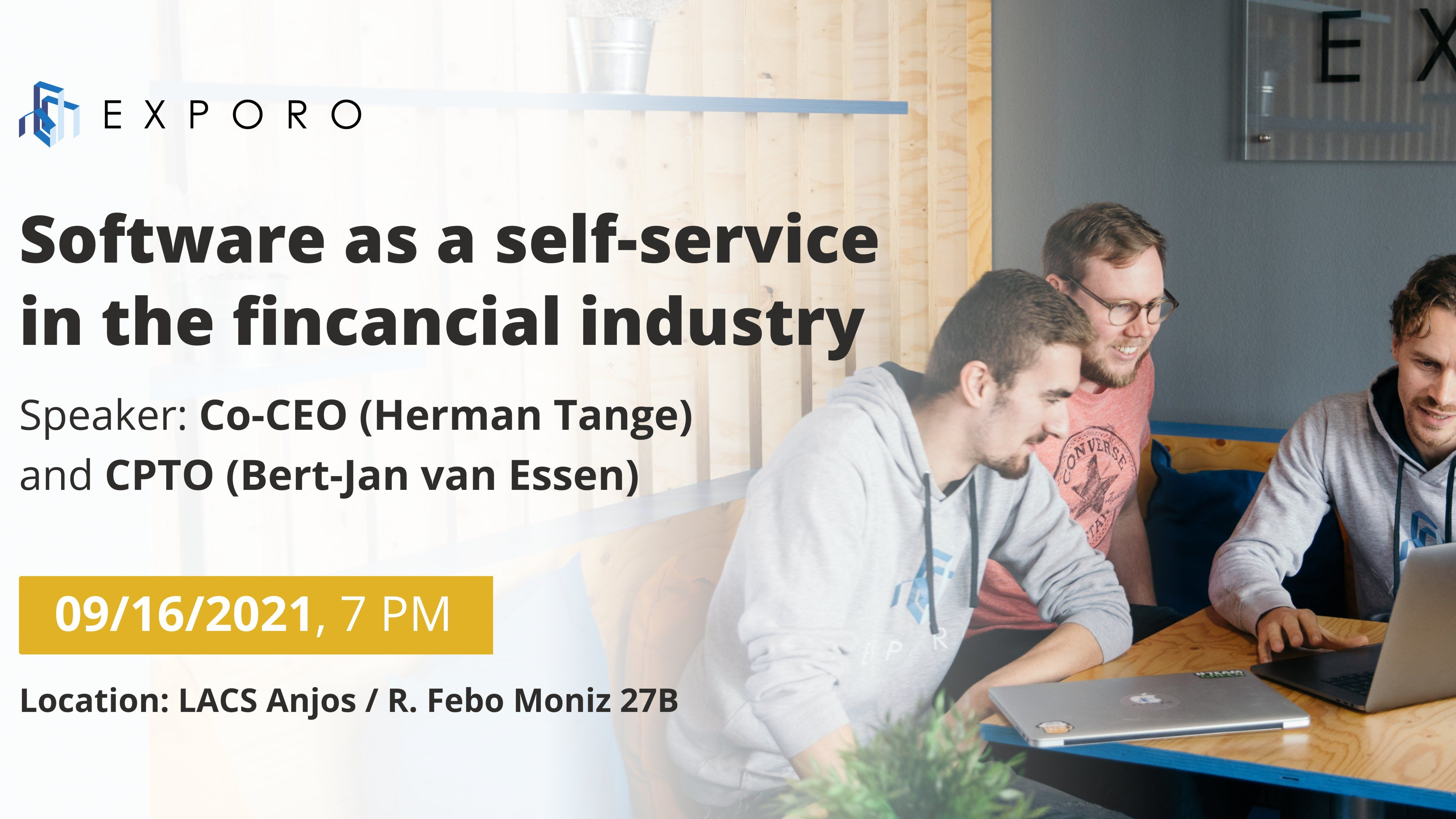 Software as a self-service in the financial industry