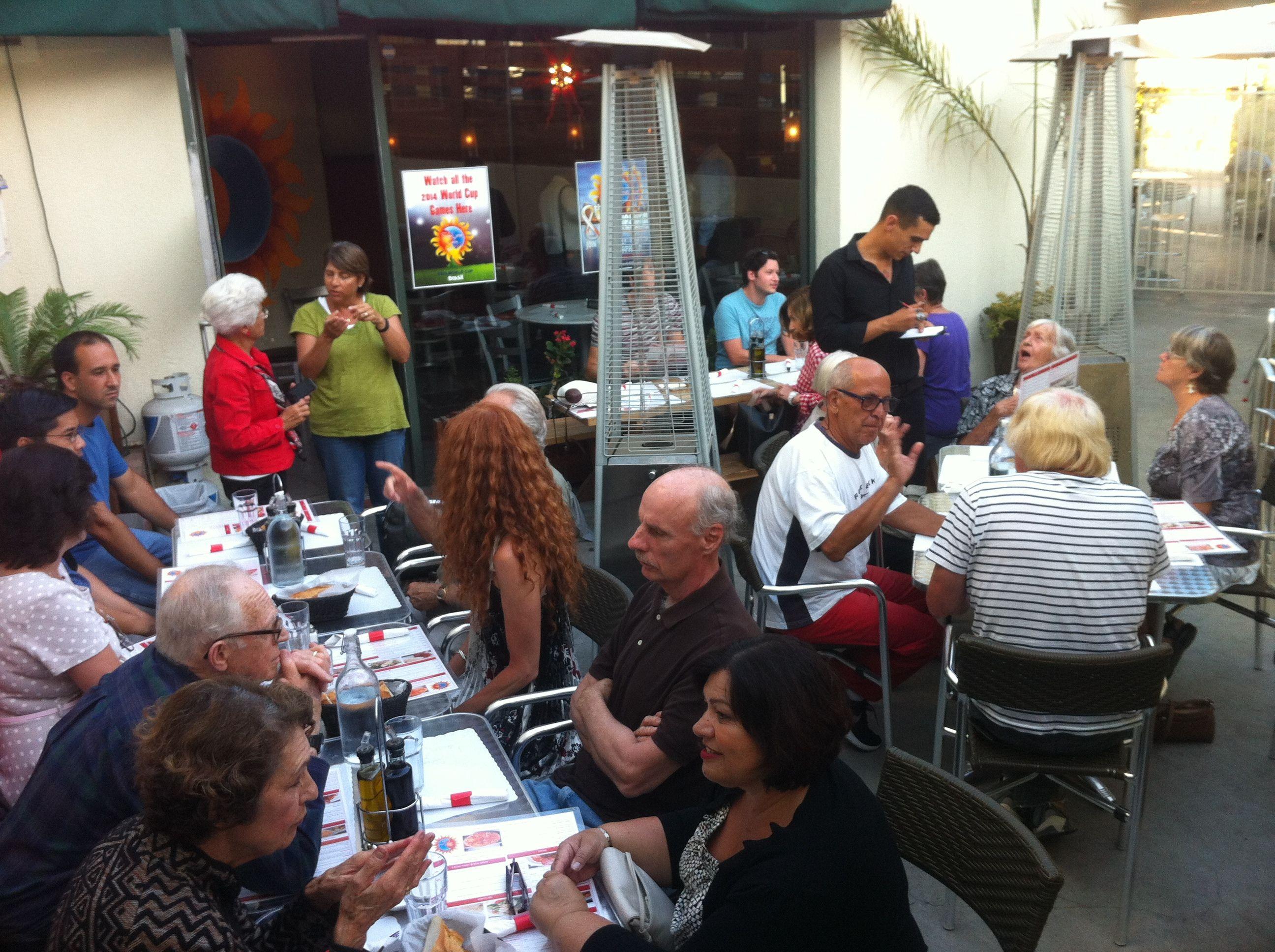 A New Restaurant for Mezzo Meetup!