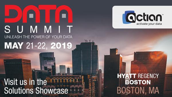 Join Actian at Boston Data Summit - May 21-22, 2019 | Meetup