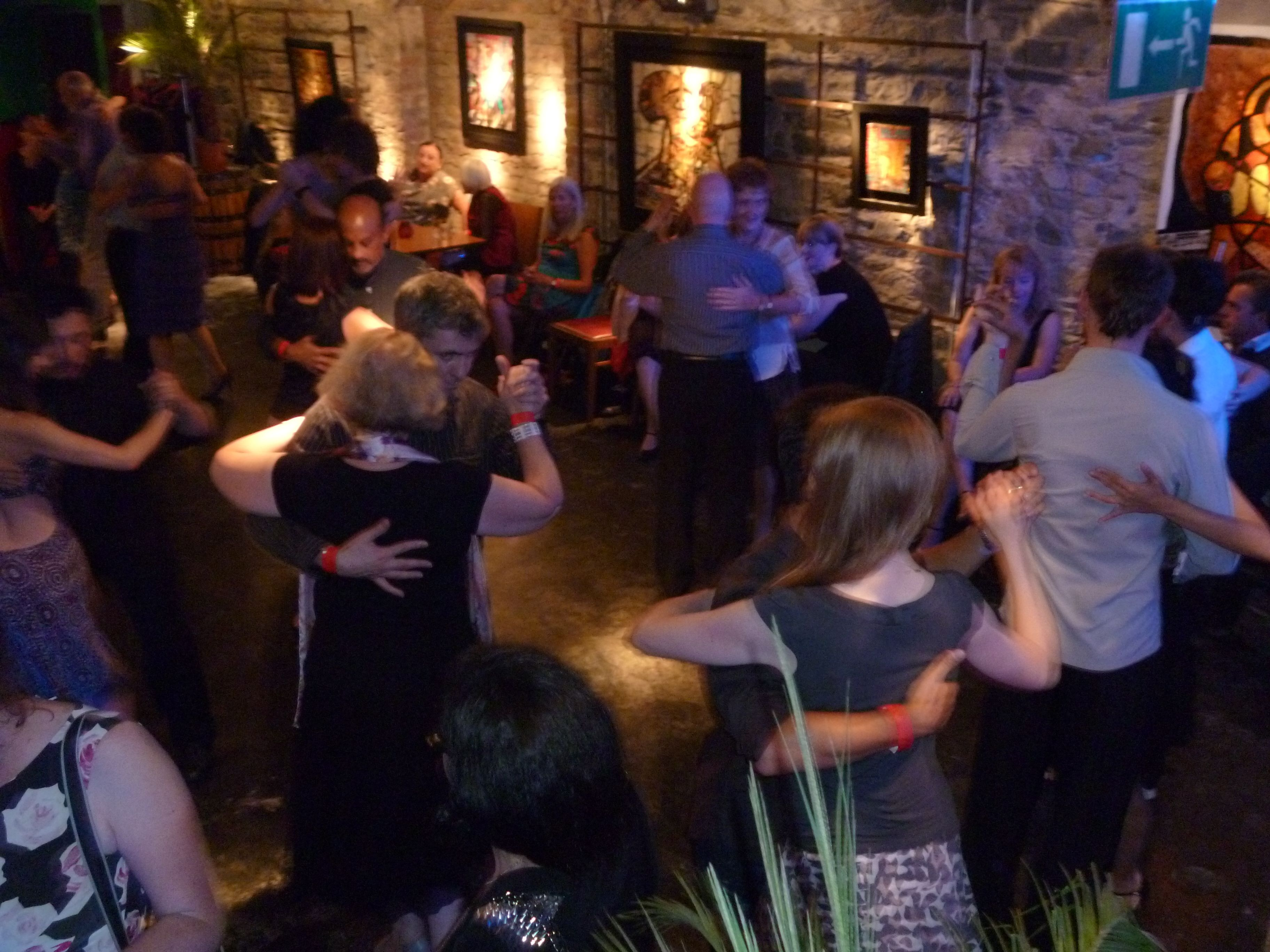 Argentinian Tango social dance evening