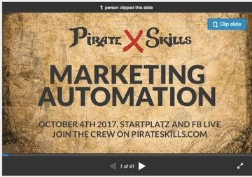 Amazing event about Marketing Automation   Job offer    Upcoming