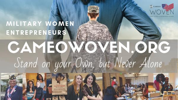 WOVEN Meetup for Military Women Entrepreneurs