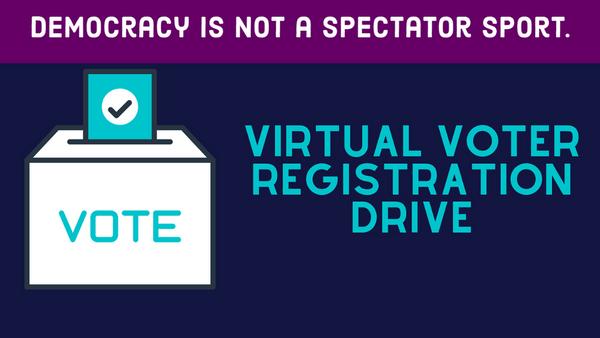 National Voter Registration Day: Virtual Voter Registration Drive