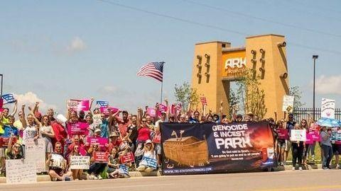 Protest the Ark Encounter: 5th Anniversary live online!